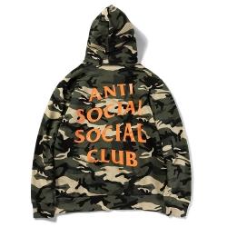 เสื้อ Anti Social Social Club Hoodie Camo