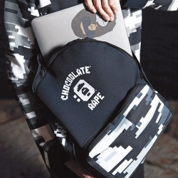 (พร้อมส่ง) กระเป๋า Chocoolate x AAPE by A Bathing Ape Digital Camo Backpack