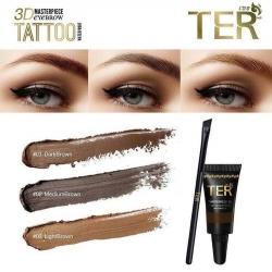 TER เขียนคิ้ว Masterpiece 3D Eyebrow Tattoo Waterproof คิ้วน้ำแทททู3มิติ