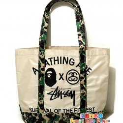 กระเป๋า A Bathing Ape® x Stussy x Smart Magazine