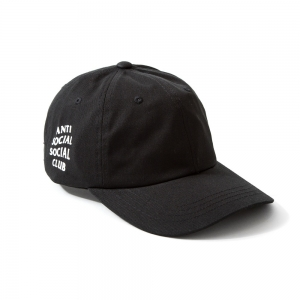 (พร้อมส่ง) หมวก Anti Social Social Club x Weird Cap (Black)