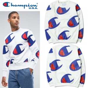 (Pre-Order) เสื้อ Champion Long Sleeve Big Logo