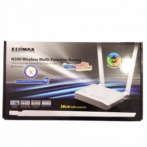 EDIMAX BR-6428nC N300 Multi-Function Wi-Fi Router