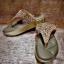 รองเท้าสุขภาพ โซฟาสีทองอร่ามสวย หน้าเพชรลายสวยมากก บุด้านในคาดนุ่มสบายเท้า ด้านข้างคาดหนังสีทองสวย thumbnail 4