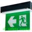 กล่องไฟทางหนีไฟ กล่องไฟทางออก สลิมไลน์ EXB203TRE,EXB203TCE Slimline LED Series (Exit Sign Lighting Max Bright C.E.E.) thumbnail 1