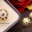แหวนพลอยนพเก้า หุ้มทองคำแท้ (ทรงโบราณ) thumbnail 1