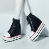 Preorder รองเท้าผ้าใบ (high help) 33-42 รหัส BF-7404-2