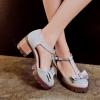 พรีอเดอร์ รองเท้าแฟชั่น 34-43 รหัส Y-4033