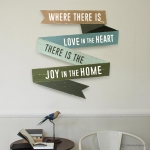 วอลล์อาร์ต ป้ายอักษรตกแต่งผนัง Wall Art Sign - Where there is love