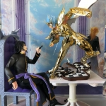 เปิดจอง Star Model - Saint Seiya Resin Manigoldo Cancer TLC Model 1:6 Figures Gold limited