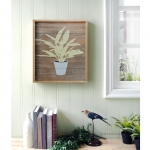 วอลล์อาร์ตตกแต่งผนัง Wall art stencil house plant