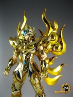 Metalclub Saint Cloth Myth EX God Leo Aiolia (reproduct) กล่องบุบ