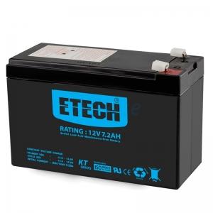 Battery 7.2Ah 12V 'ETECH'
