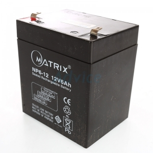 """Battery 6Ah 12V """"Matrix"""""""