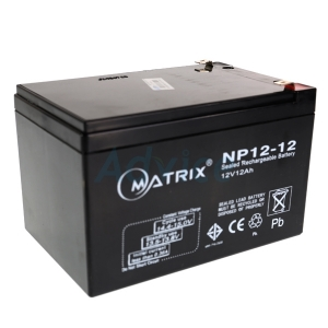 """Battery 12Ah 12V """"Matrix"""""""