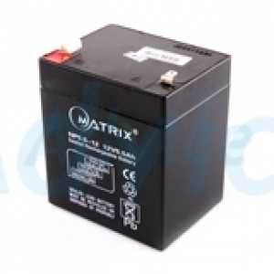 Battery 5.5Ah 12V 'Maxtrix'