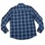 เสื้อเชิ้ตลายสก๊อต สีน้ำเงิน สไตล์ UK เนื้อผ้าดี ผ้าพรีเมียม thumbnail 5