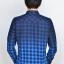 เสื้อลายสก๊อต ผู้ชาย สีน้ำเงิน thumbnail 2