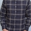 เสื้อลายสก๊อต ผู้ชาย สีเทาดำ Grey Flannel Shirt thumbnail 5