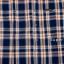 เสื้อเชิ้ตลายสก๊อต ผู้ชาย สีน้ำเงินส้ม ไซส์ใหญ่ thumbnail 5
