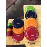 Coleman Nordic Color Plate+Bowl+Mug/4 pc.