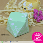 กล่องของชำร่วย ทรงกะรัต ขนาด 6x6x6 ซม. (บรรจุแพ็คละ 50 ใบ)
