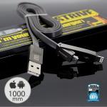 สายชาร์จ i5/i6/Micro (RC-042T) Strive REMAX สีดำ