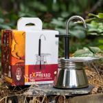 เครื่องต้มกาแฟ GSI Mini Expresso Stainless 1 CUP