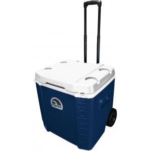 กระติกเก็บความเย็น IGLOO รุ่น Transformer Roller Cooler 60 QT. BLUE