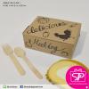 กล่อง Snack ลายไก่ สีน้ำตาล ขนาด 12 x 16.5 x 6 ซม. (บรรจุ 50 กล่องต่อแพ็ค)