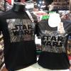 สตาร์วอร์ สีดำ (Star wars logo silver CODE:1261)