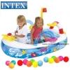 บ่อบอลเรือ กว้าง 40 นิ้ว Intex Ball Toyz Lil Mariner Playround Boat