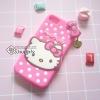 เคส iPhone7 คิดตี้โบว์ สีชมพู