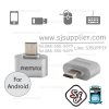 Remax RA-OTG USB สีเงิน