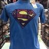 ซุปเปอร์แมน สีน้ำเงินฟอก (Superman logo red gray)