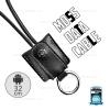 สายชาร์จ Micro USB (RC-079m) REMAX สีดำ