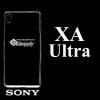 เคส Sony XA Ultra ซิลิโคน สีใส