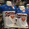 ซุปเปอร์แมน สีน้ำเงิน (Superman Baseball top blue CODE:0874)