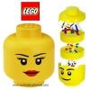 หัวเก็บตัวต่อเลโก้ Lego Sort N' Store Head, Girl