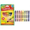 สีเทียน ทรงสามเหลี่ยม ขนาดใหญ่พิเศษ Crayola My First Washable Triangular Crayons 16 ct.
