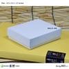 สีขาว ขนาด 4.5x5.5x1.5 นิ้ว (บรรจุ 50 กล่องต่อแพ็ค)