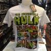 มาร์เวล สีขาว (The Incredible Hulk white logo green)