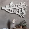 วอลล์อาร์ตฉลุคำ My happy place