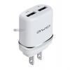 หัวชาร์จ Awei C-920 2.1A USB 2 ช่อง สีเงิน