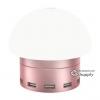 โคมไฟ Awei C-910 พอร์ตชาร์จ 6 USB สัมผัส สีชมพู
