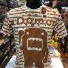 โดโมะ สีขาว ( Domo Line white and brown CODE:1256)