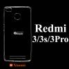 เคส Xiaomi Redmi 3 Pro ซิลิโคน สีใส