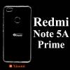 เคส Xiaomi Redmi Note 5A Prime ซิลิโคน สีใส