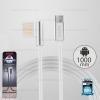 สายชาร์จ Micro USB (RC-054m) REMAX สีเงิน