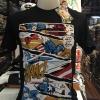 กัปตันอเมริกา สีดำ (Captain Comic Black)